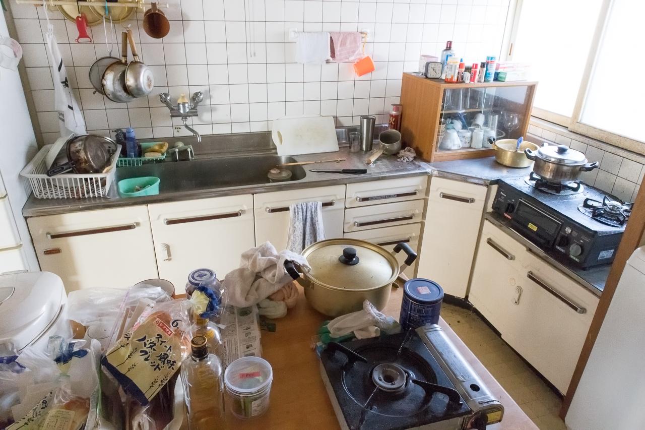 ドミトリーシルシルのキッチンの様子