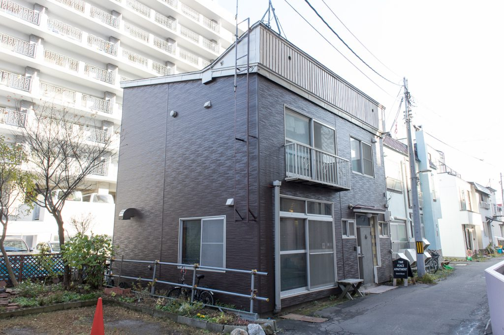 Time Peace Apartment建物外観