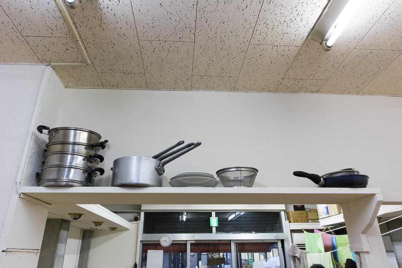 やどやゲストハウス グリーンの調理器具