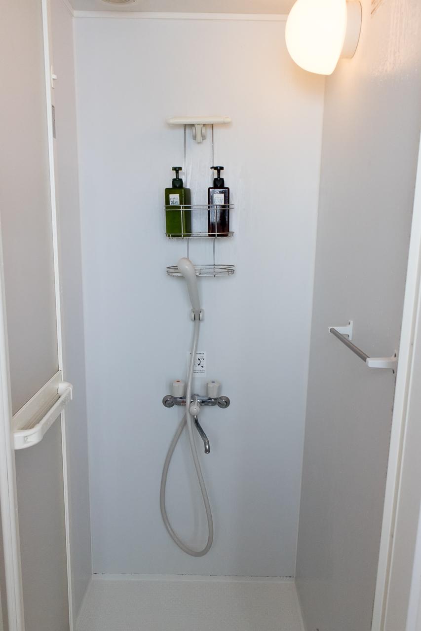 Zabutton hostel3階シャワールーム