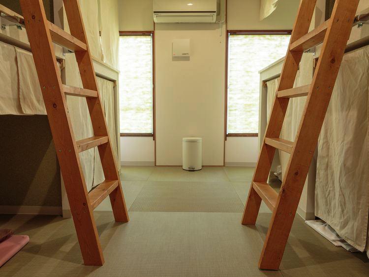 ジェイホッパーズ広島の宿泊部屋