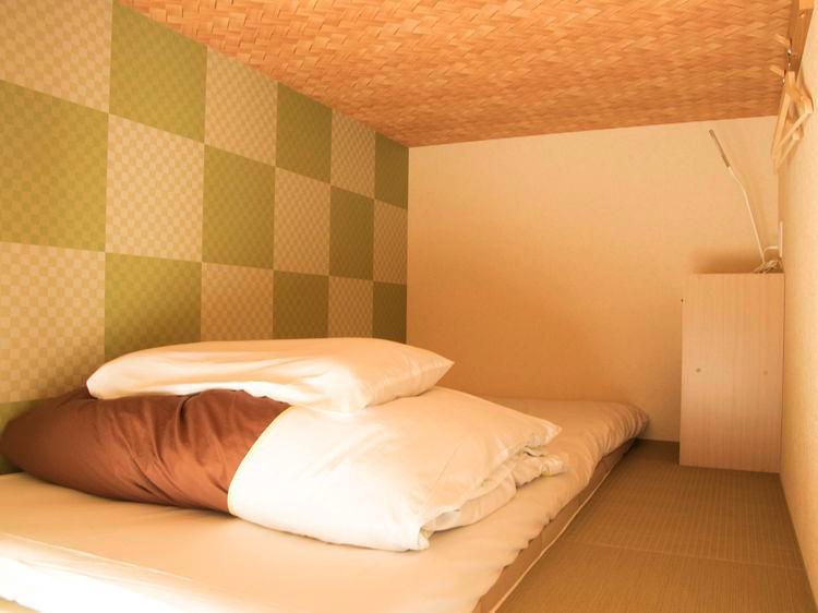 ジェイホッパーズ熊野湯峰の宿泊部屋