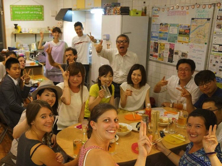 ジェイホッパーズ大阪の交流雰囲気