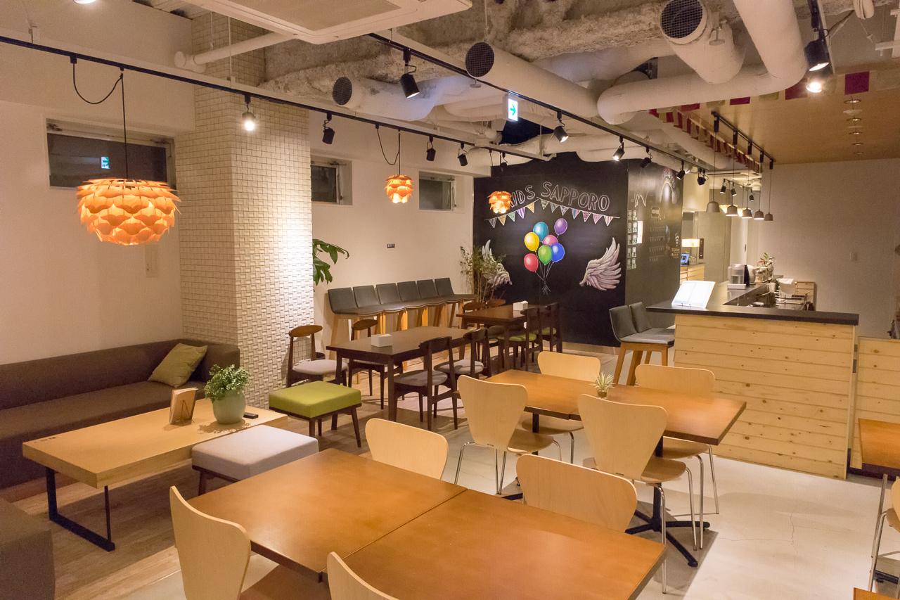 グリッズ 札幌 ホテル&ホステル・共有スペース&バー