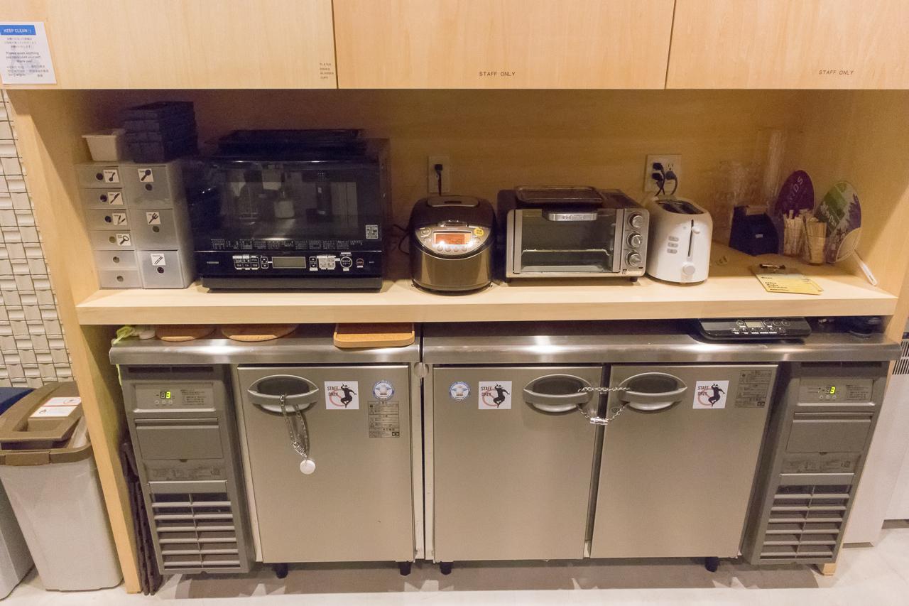 グリッズ 札幌 ホテル&ホステル・共有キッチン