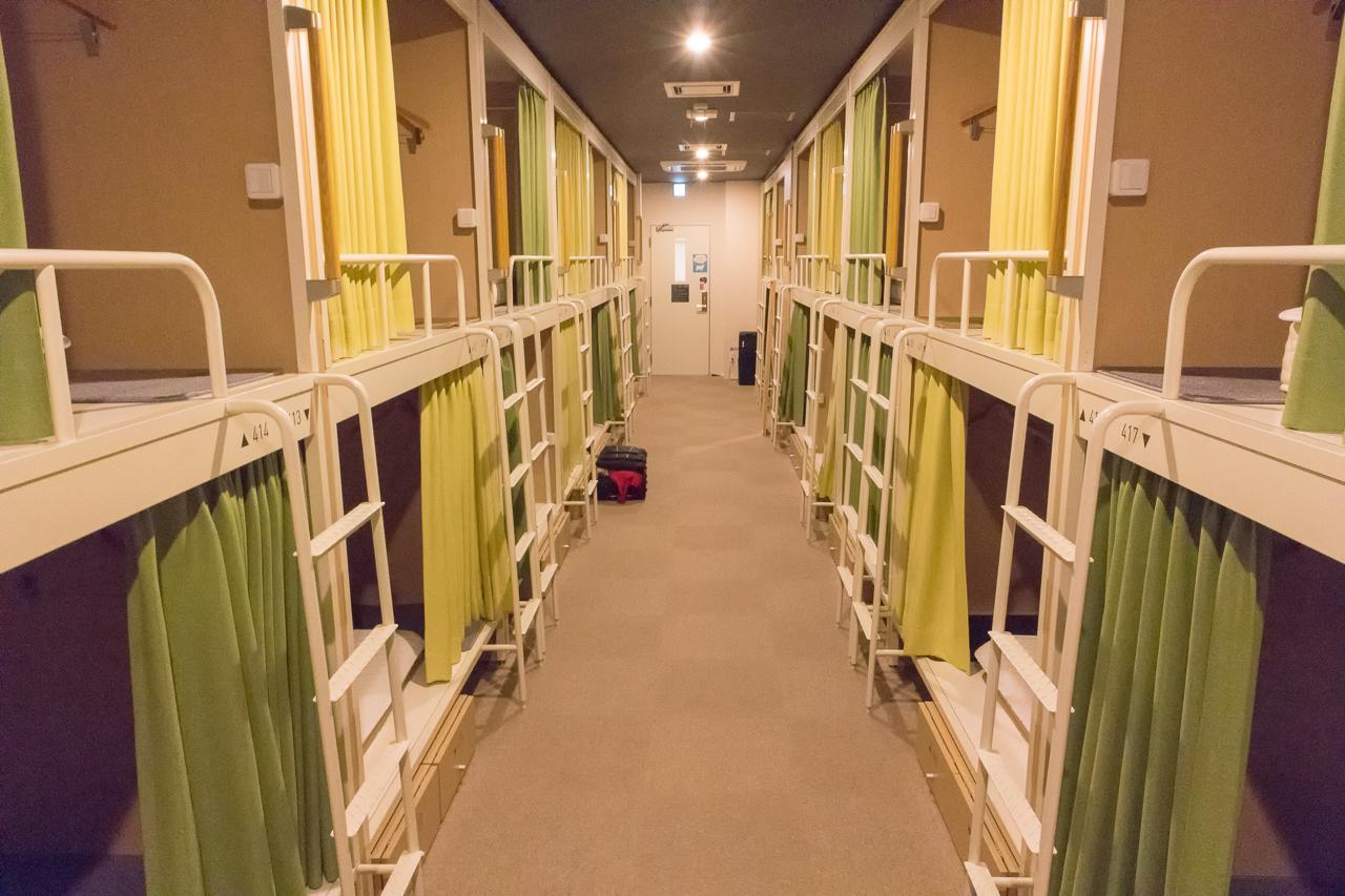 グリッズ 札幌 ホテル&ホステル・ドミトリールーム