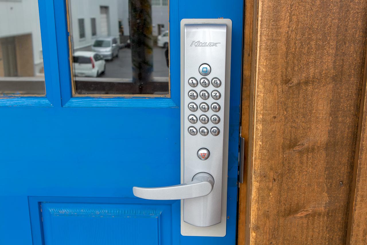札幌ゲストハウスwaya(ワヤ)ドアのロック