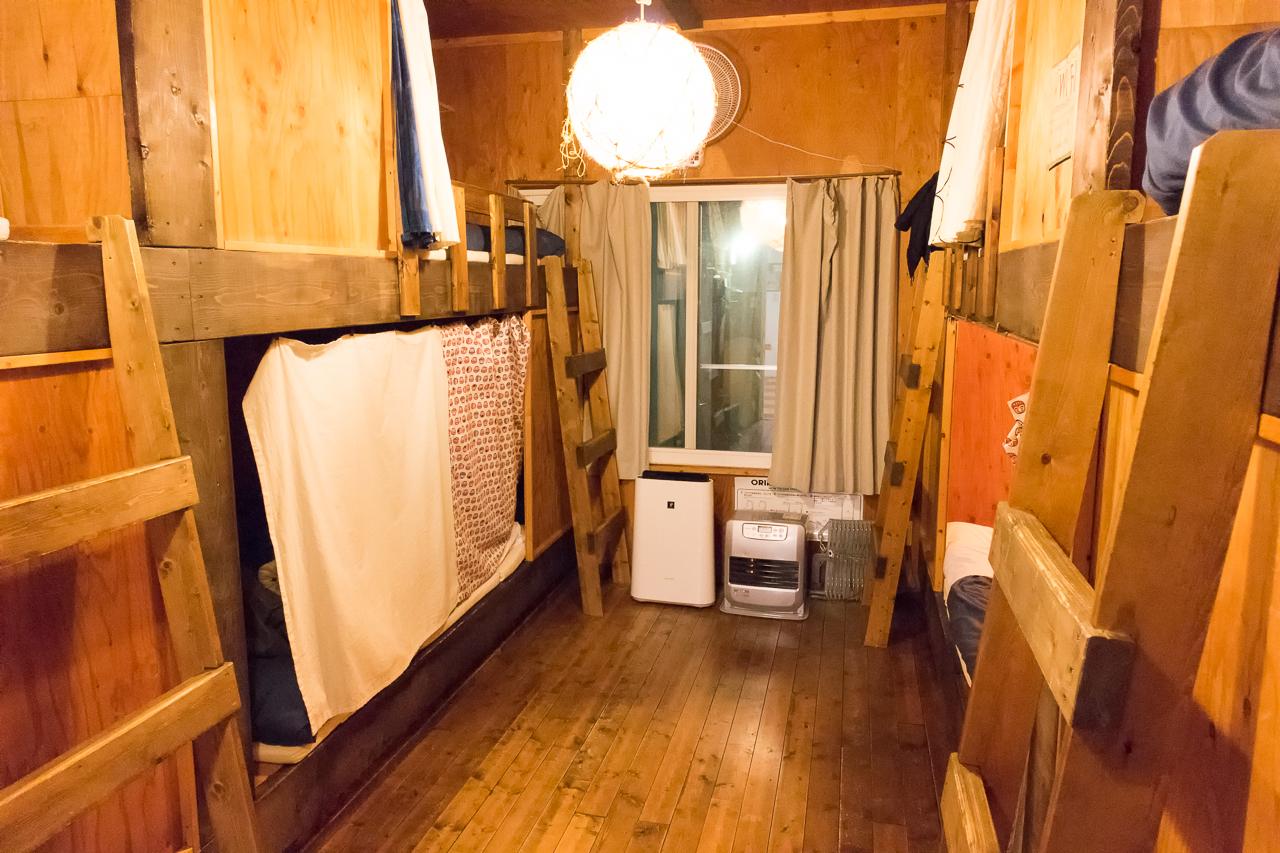 札幌ゲストハウスwaya(ワヤ)ドミトリールーム