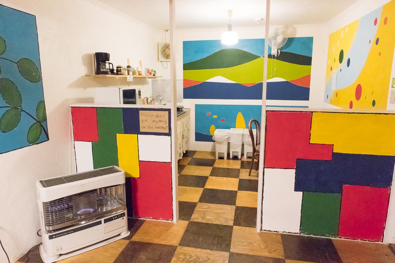 札幌ゲストハウスwaya(ワヤ)共有キッチン