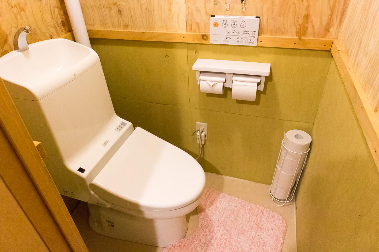 札幌ゲストハウスwaya(ワヤ)トイレ