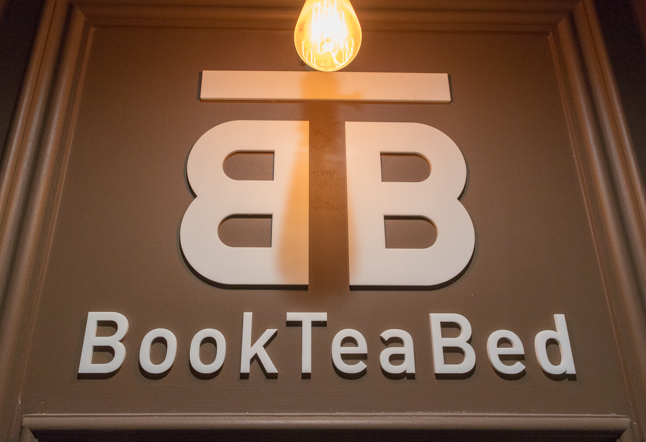 Book Tea Bed GINZA(看板)看板
