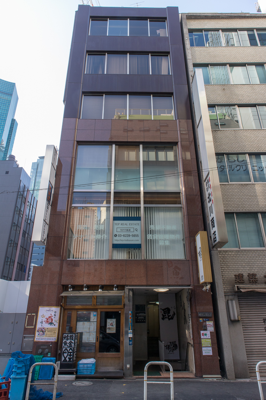 Book Tea Bed GINZA(銀座店)建物外観