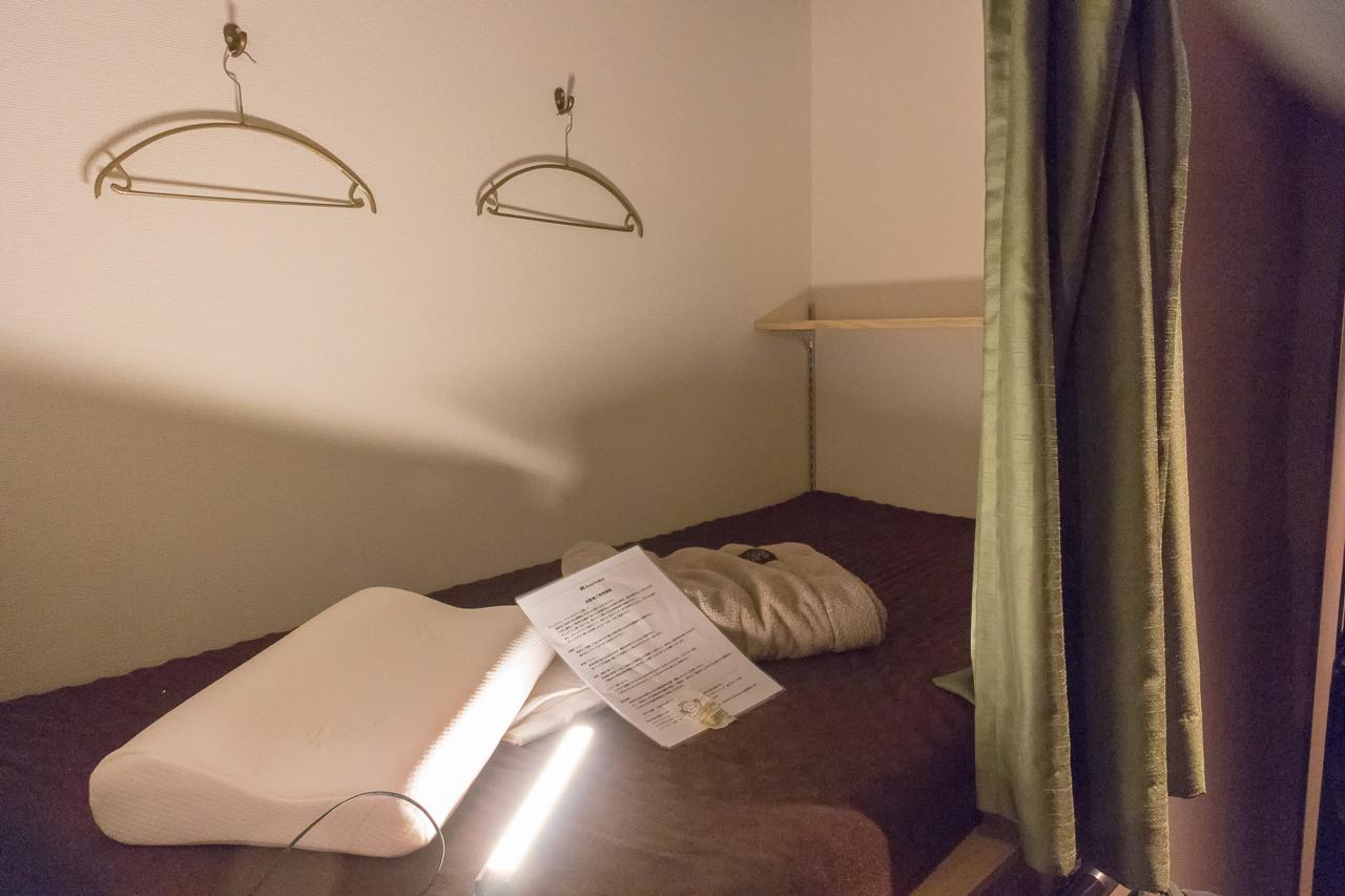 Book Tea Bed GINZA(銀座店)のベッド