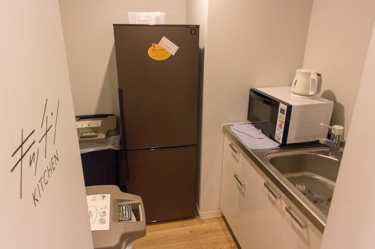 IMANO TOKYO GINZA HOSTEL2階のキッチン