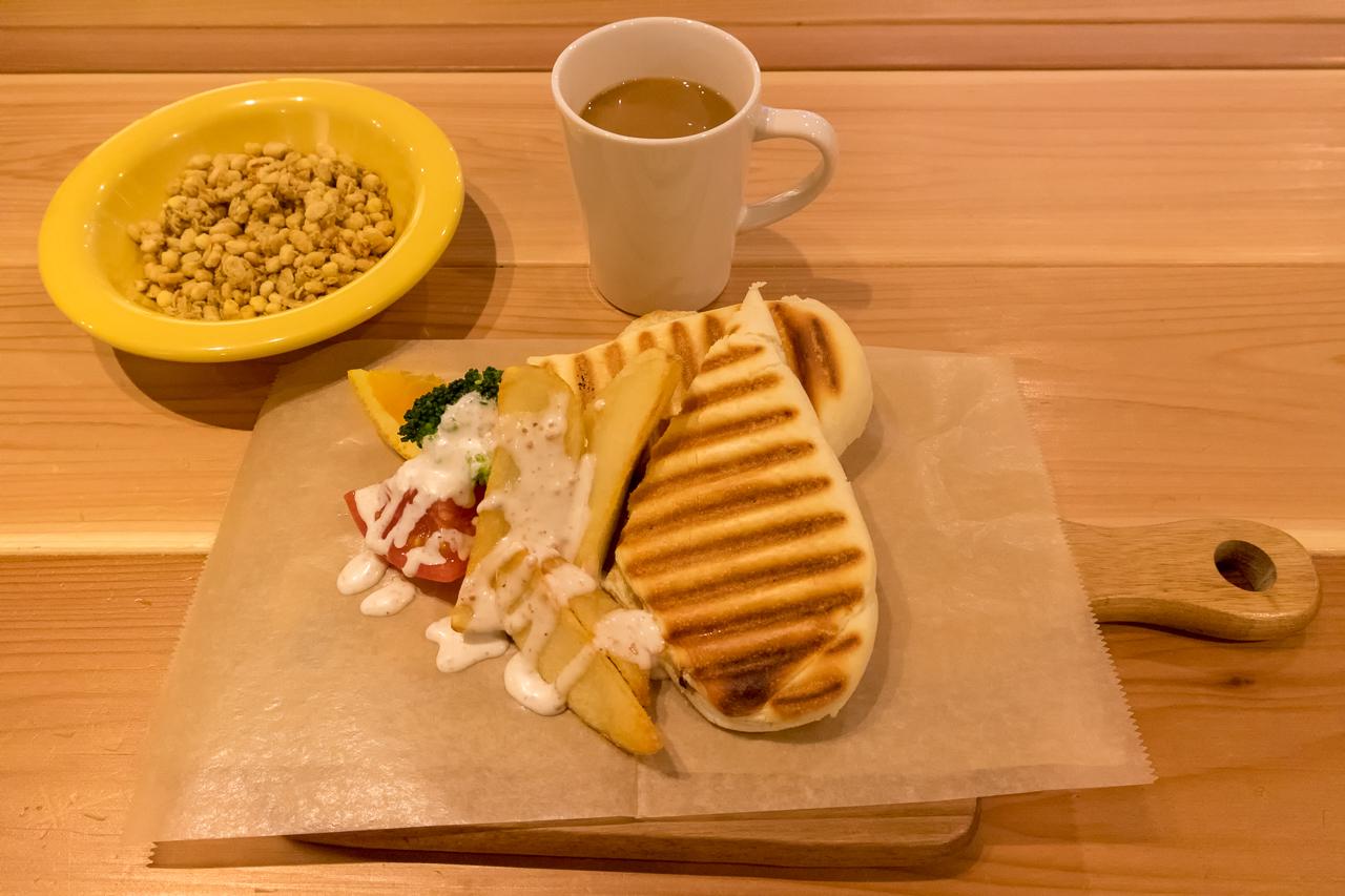 IMANO TOKYO GINZA HOSTELの朝食