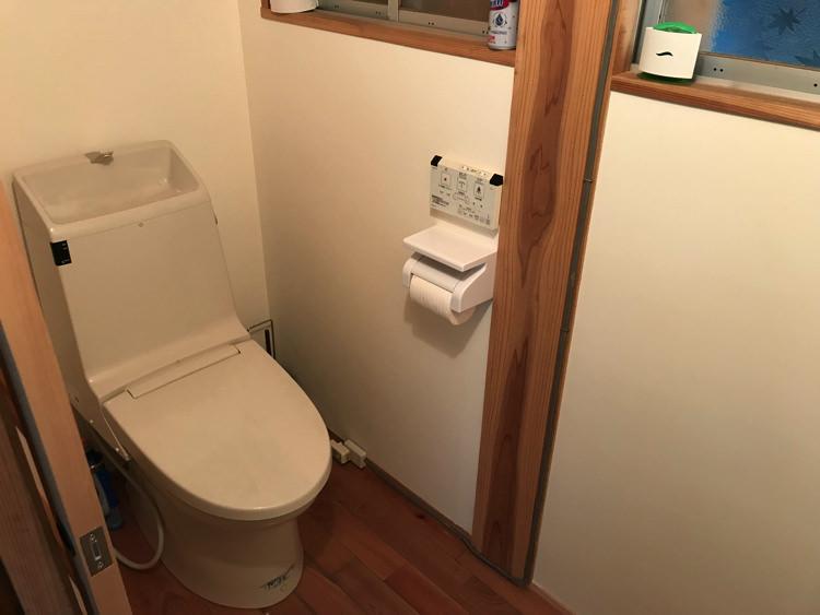 唐津ゲストハウス鳩麦荘のトイレ
