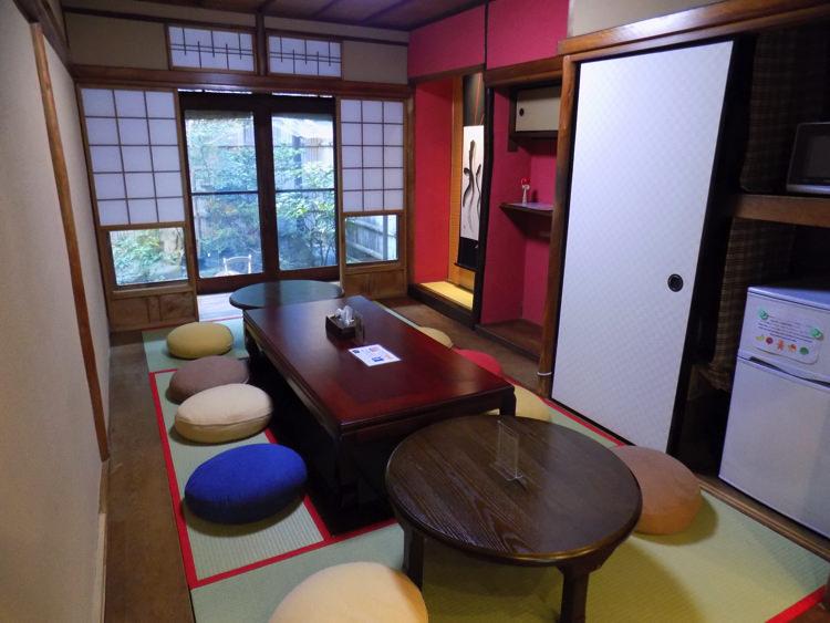 ホステル わさび京都町家そば 共有ルーム