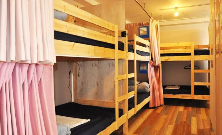 ゲストハウス松の宿泊部屋②