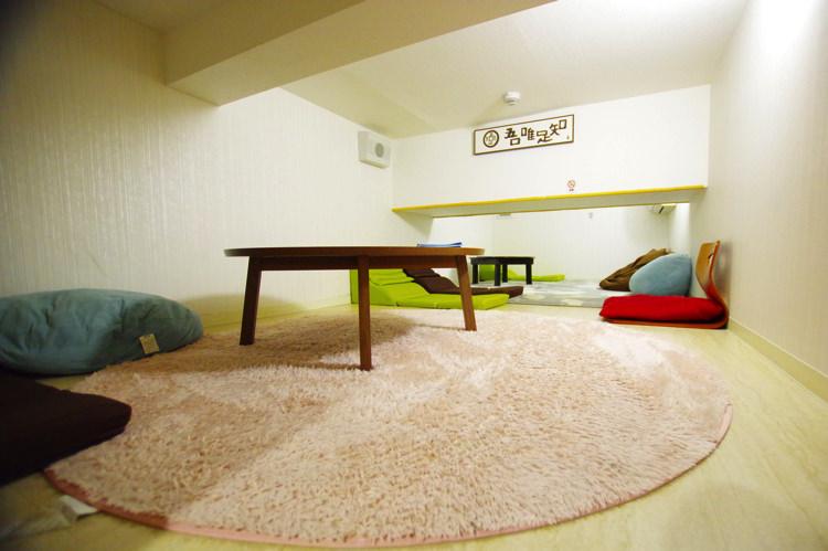 ゲストハウスわさび大阪 Bed and Libraryの部屋