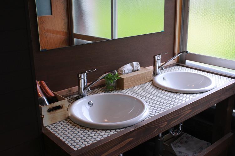 ゲストハウスひとときの洗面所