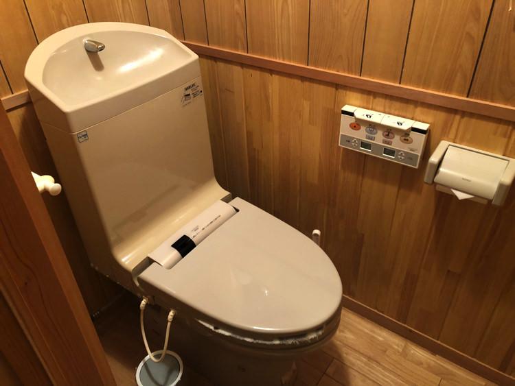 Lacomaのトイレ