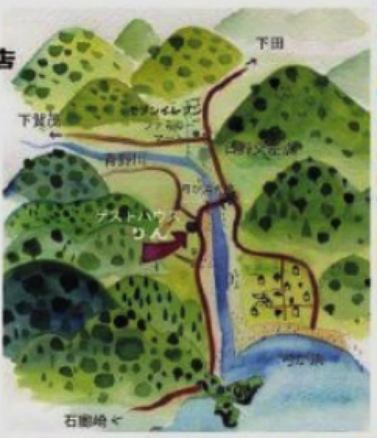 ゲストハウスりんの地図