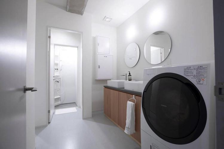HafH Nagasaki SAIの洗面所