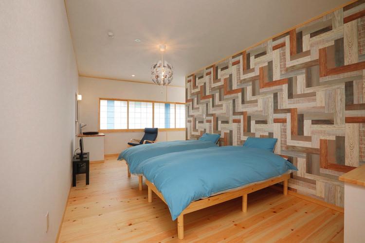 温泉ゲストハウス 湯koriの宿泊部屋1